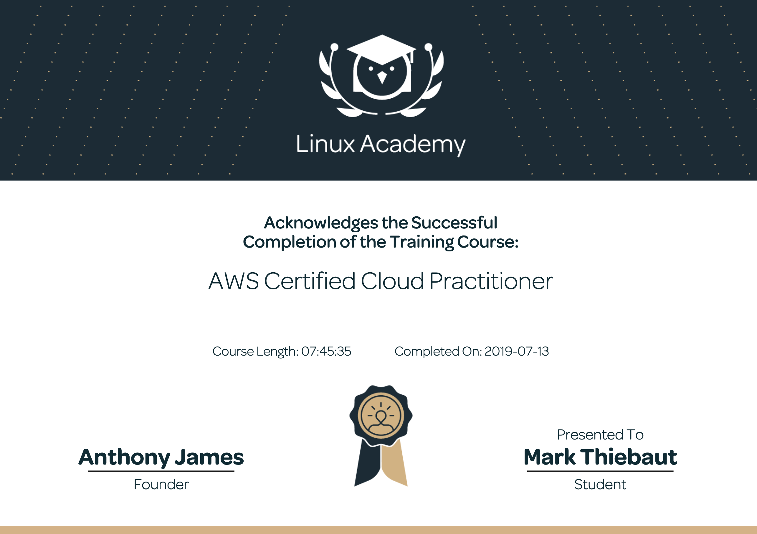 Training Course: AWS Certified Cloud Practitioner - Linux Academy